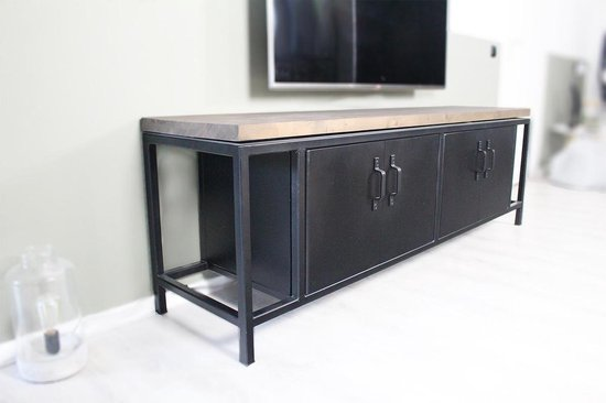 Tv Meubel Dressoir Kast.Bol Com Dressoir Kast Tv Meubel Seatle Robuust En Industrieel