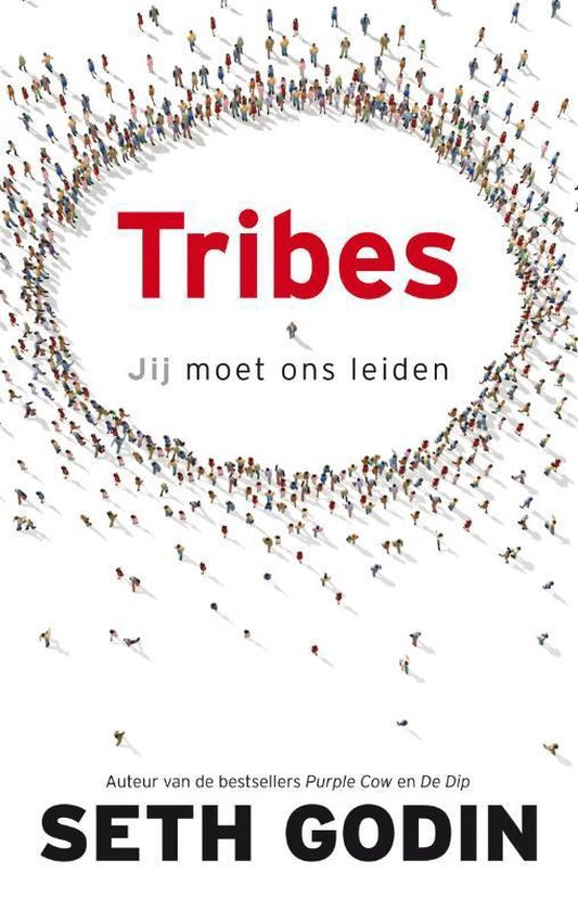 Boek cover Tribes van Seth Godin (Hardcover)