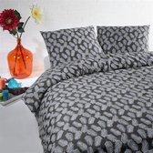 Papillon Romeo dekbedovertrek - Grijs - Lits-jumeaux (240x200/220 cm + 2 slopen)