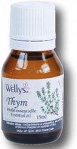Wellys Essentiële oliën  Thym extract 15 ml  - Geurverspreider