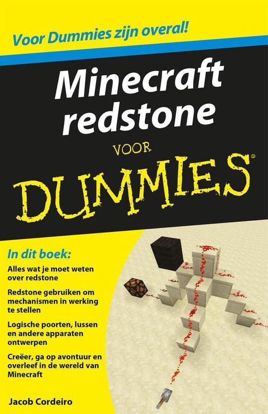 Voor Dummies - Minecraft redstone voor Dummies - Jacob Cordeiro |