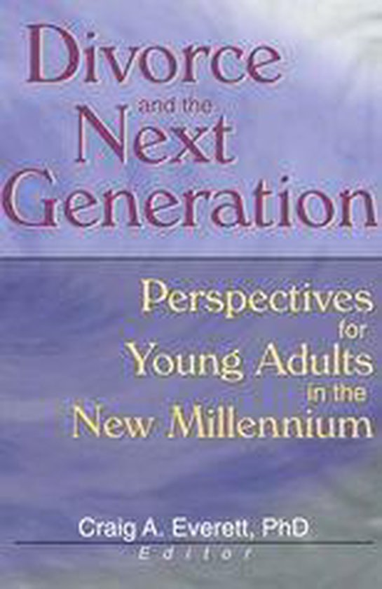 Boek cover Divorce and the Next Generation van Craig Everett (Onbekend)