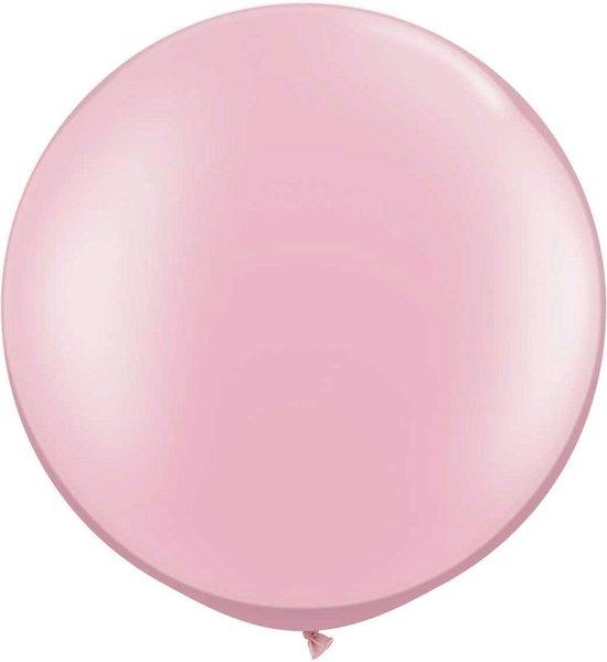 Megaballon Pearl Pink 95 cm 1 stuks