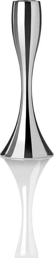 Stelton Reflection Kandelaar - Zilver - H23 cm