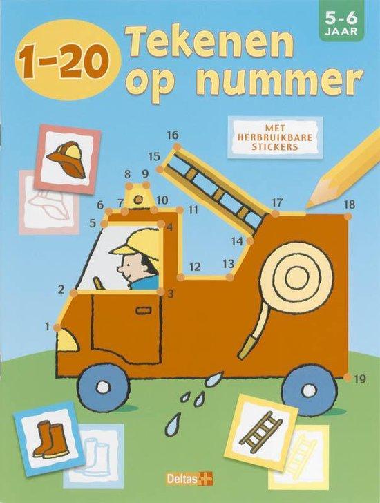 Cover van het boek '1 20 Tekenen op nummer'
