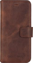 Bouletta 'Genuine Leather'  iPhone X / Xs WalletCase Cover Antic Brown