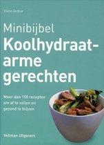 Boek cover Minibijbel - Koolhydraatarme gerechten van Elaine Gardner (Hardcover)