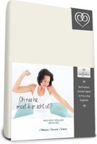 Bed-Fashion Mako Jersey Topdek Split hoeslakens 180 X 200 cm creme