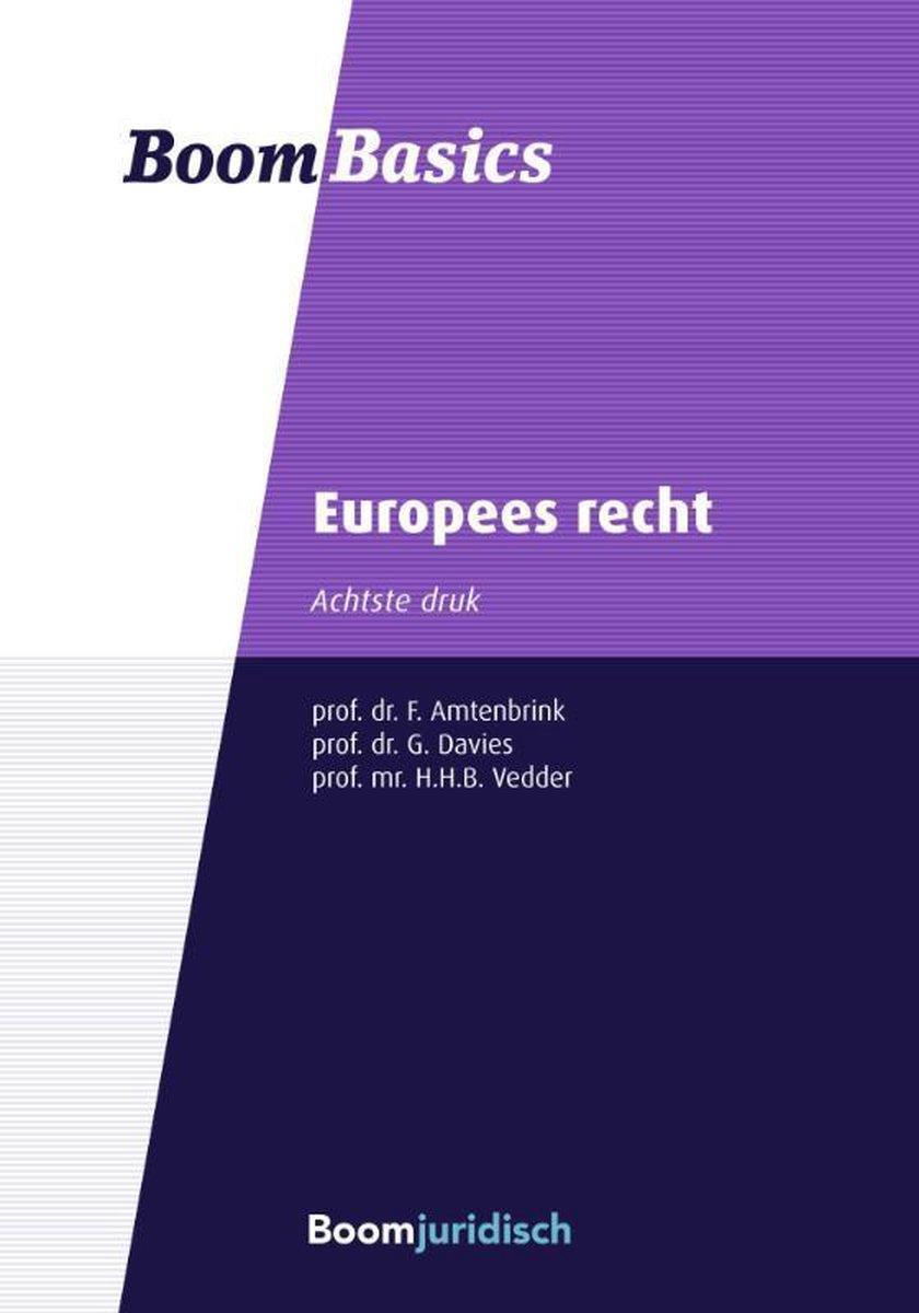 Boom Basics - Europees recht - Fabian Amtenbrink