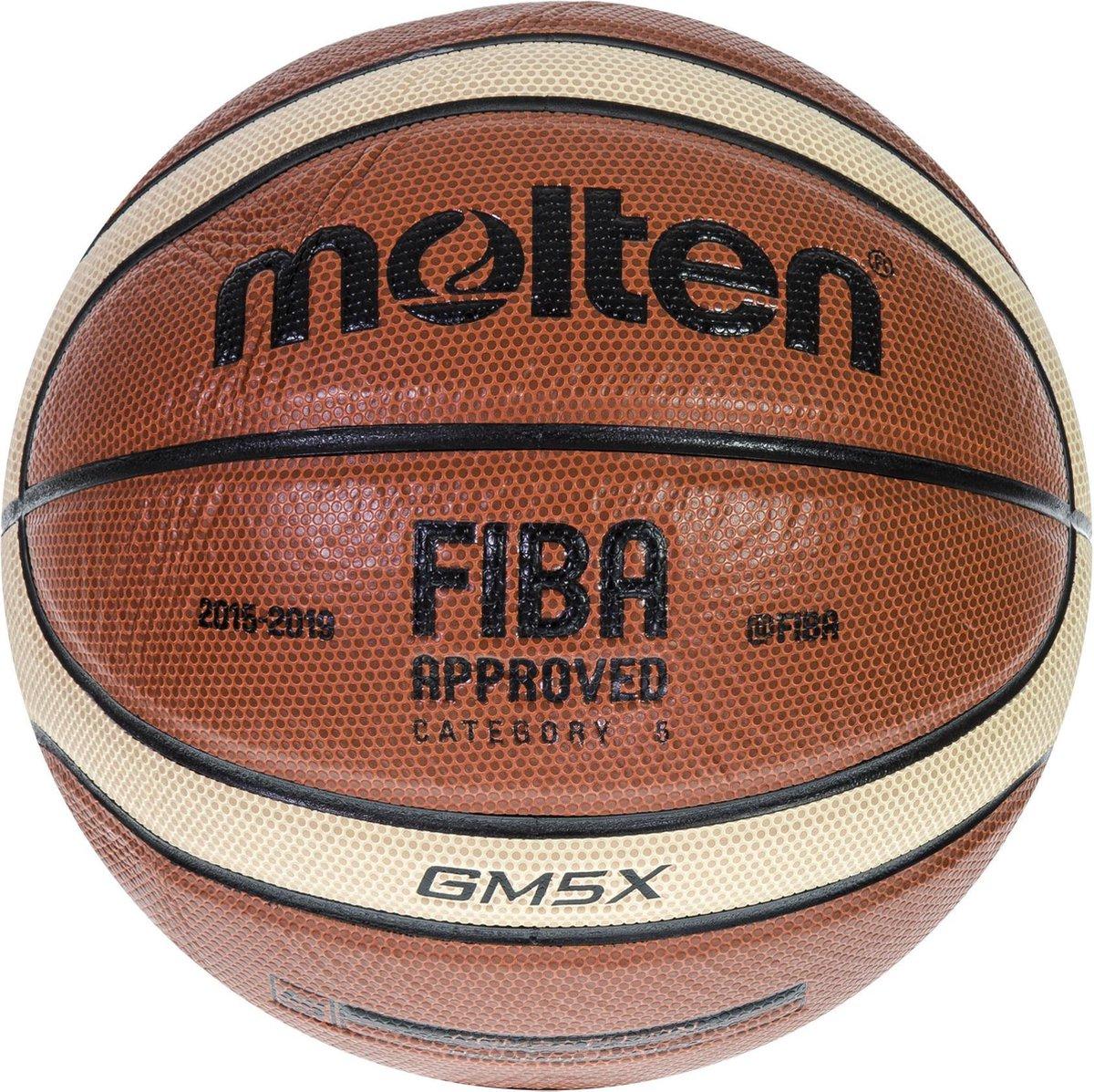 Molten BasketbalKinderen en volwassenen - oranje/wit/zwart - Molten