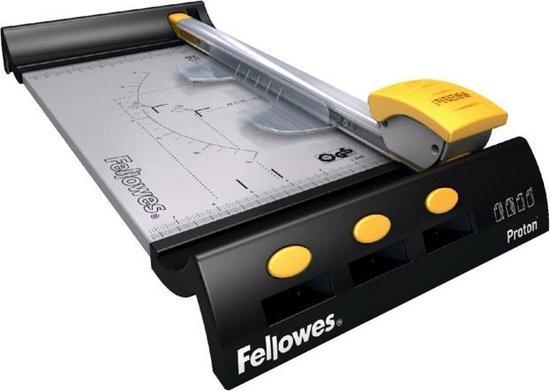 Fellowes papiersnijmachine Proton A4, 10 vel, 320 mm, zwart