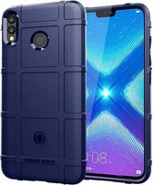 Honor 8X hoes - Heavy Armor TPU Bumper - Blauw