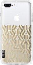 Apple iPhone 7 Plus / iPhone 8 Plus hoesje Golden Hexagons Casetastic Smartphone Hoesje Hard Cover case