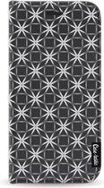 Samsung Galaxy A5 (2017) hoesje Geometric Lines Silver Casetastic Smartphone Hoesje Wallet Cases case