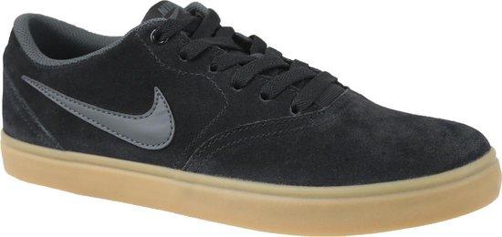 Nike SB Check Solar Sneakers Maat 44 Mannen zwart