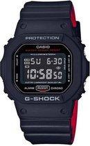 CASIO - DW-5600HR-1ER - G-SHOCK - horloge - Mannen - Zwart - Kunststof Ø 43 mm