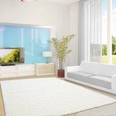 Hoogpolig vloerkleed - Life Creme/Wit 80x150cm