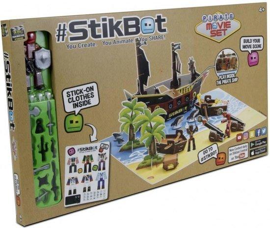 Afbeelding van het spel Stikbot Movie Set Pirates