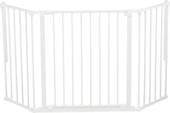 Babydan Flex M Veiligheids Afscheiding - 90 t/m 146 cm - Wit