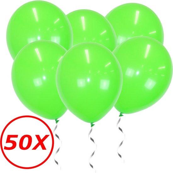 Licht Groene Ballonnen Verjaardag Versiering Groene Helium Ballonnen Feest Versiering Jungle Versiering - 50 Stuks