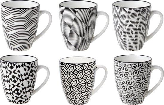 Cosy & Trendy Nikko design bekers assorti - Set-6