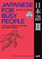 Japanese for Busy People 3 book + audio-cd
