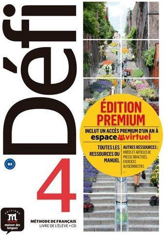 Défi 4 Livre de l´élève+CD version Premium