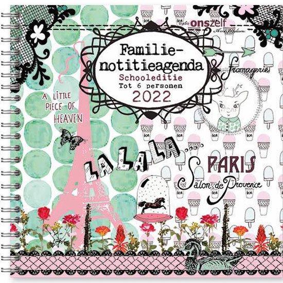 Afbeelding van Studio Onszelf - Agenda - Familie Notitieagenda - Parijs schooleditie 2022