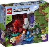 LEGO Minecraft Het Verwoeste Portaal - 21172