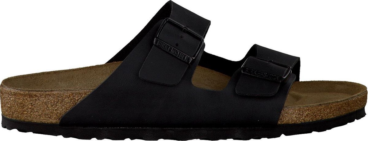 Birkenstock Arizona BF Regular Slippers - Black - Maat 38