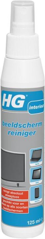 HG beeldschermreiniger - 125ml - absoluut streeploos