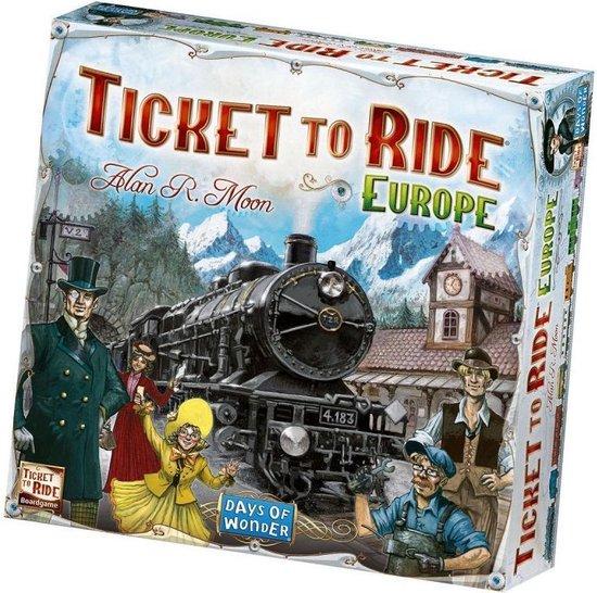 Ticket to Ride Europe - Bordspel