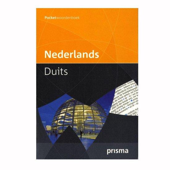 Boek cover Prisma Pocketwoordenboek Nederlands-Duits / Prisma Dutch-German Pocket Dictionary van G. A. M. M. Van der Linden (Paperback)