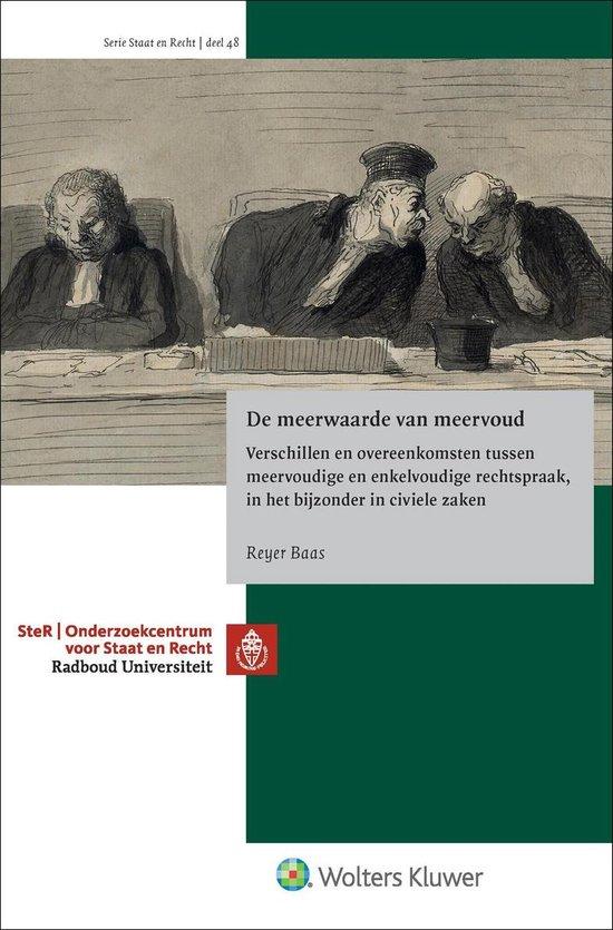 Staat en recht 48 - De meerwaarde van meervoud - Reyer Baas |