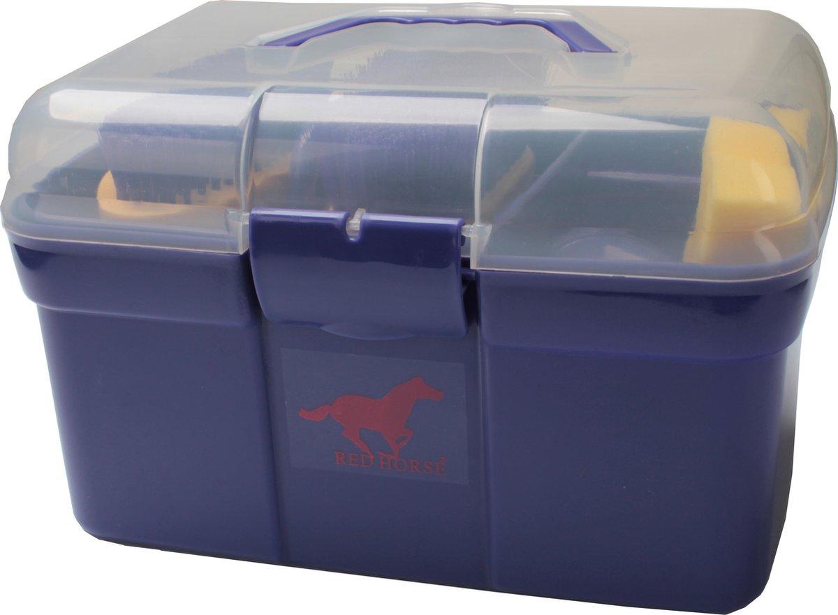 Red Horse Poetskoffer Paars 9-delig 30 X 17 X 19 Cm