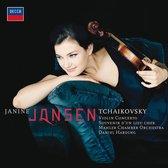 CD cover van Violin Concerto van Janine Jansen