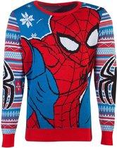 Marvel - Spiderman Knitted Unisex Jumper - M