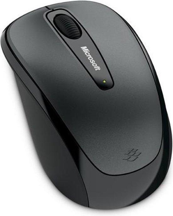 Microsoft Wireless Mobile 3500 - Draadloze Muis - Grijs