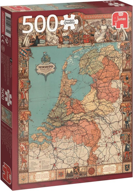 Holland door Cornelis Jetses - Puzzel 500 stukjes