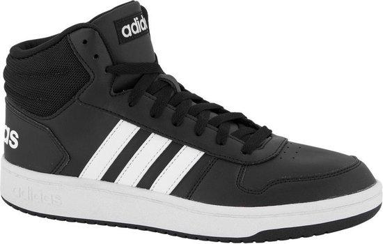 adidas Heren Zwarte Hoops Mid 2.0 - Maat 43 1/3