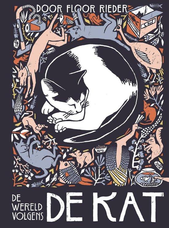 Boek cover De wereld volgens mijn kat van Floor Rieder (Hardcover)