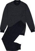 Schiesser Heren Pyjama - Donkerblauw - Maat XXL