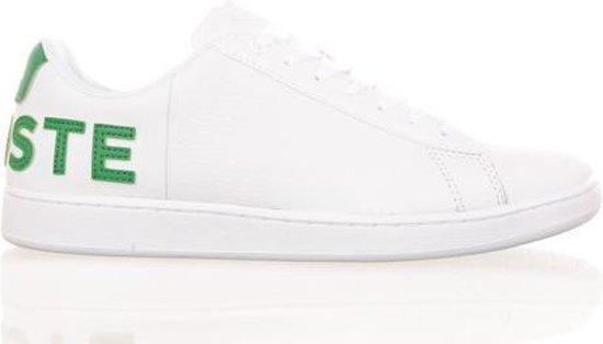 Lacoste heren sneaker Carnaby Evo wit groen