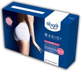 sloggi Basic+ Dames Maxi slip - 4pack - Wit - Maat 46