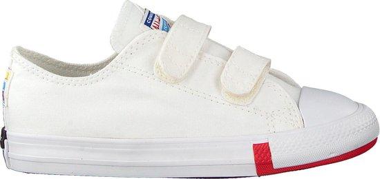 Converse Meisjes Lage sneakers Chuck Taylor All Star 2v Ox Ki - Wit - Maat  24