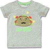 Lemon Beret t-shirt jongens - grijs - 145756 - maat 128/134