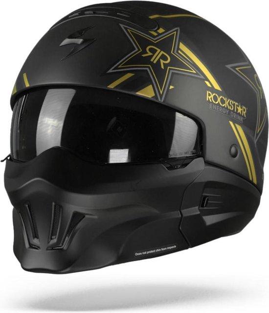 Scorpion EXO-Combat Evo Jethelm Rockstar Gold-M
