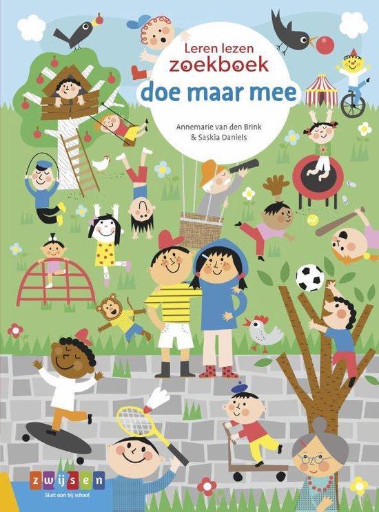 Leren lezen zoekboek - doe maar mee - Annemarie van den Brink |