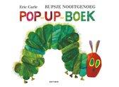 Boekomslag van 'Rupsje Nooitgenoeg pop-up-boek'