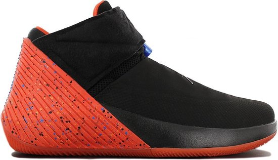 Nike AIR JORDAN Why Not Zero.1 AA2510-015 Heren Basketbalschoenen  Sportschoenen Sneaker Zwart - Maat EU 40.5 US 7.5